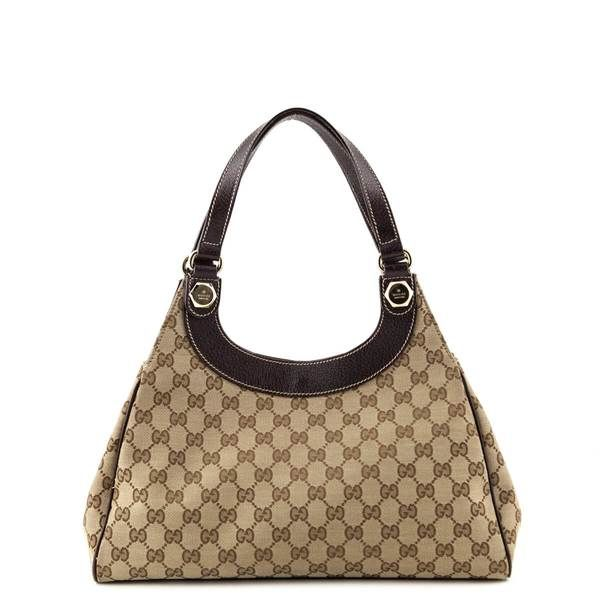 501e20defddb7 Gucci Monogram Medium Charmy Shoulder Bag - LOVE that BAG - Preowned  Authentic Designer Handbags