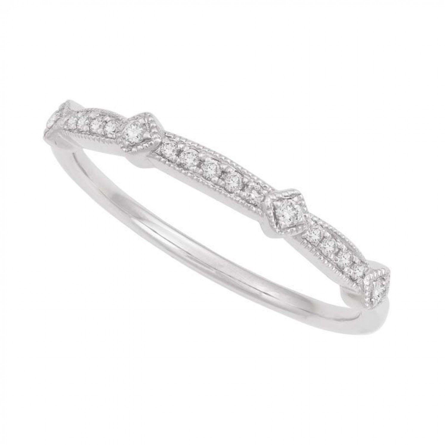 Ct white gold vintage style wedding ring wedding finishing