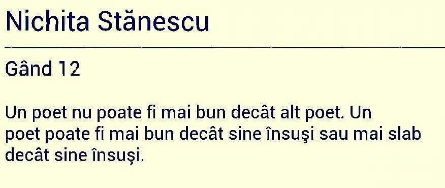 Poezie de slabire)