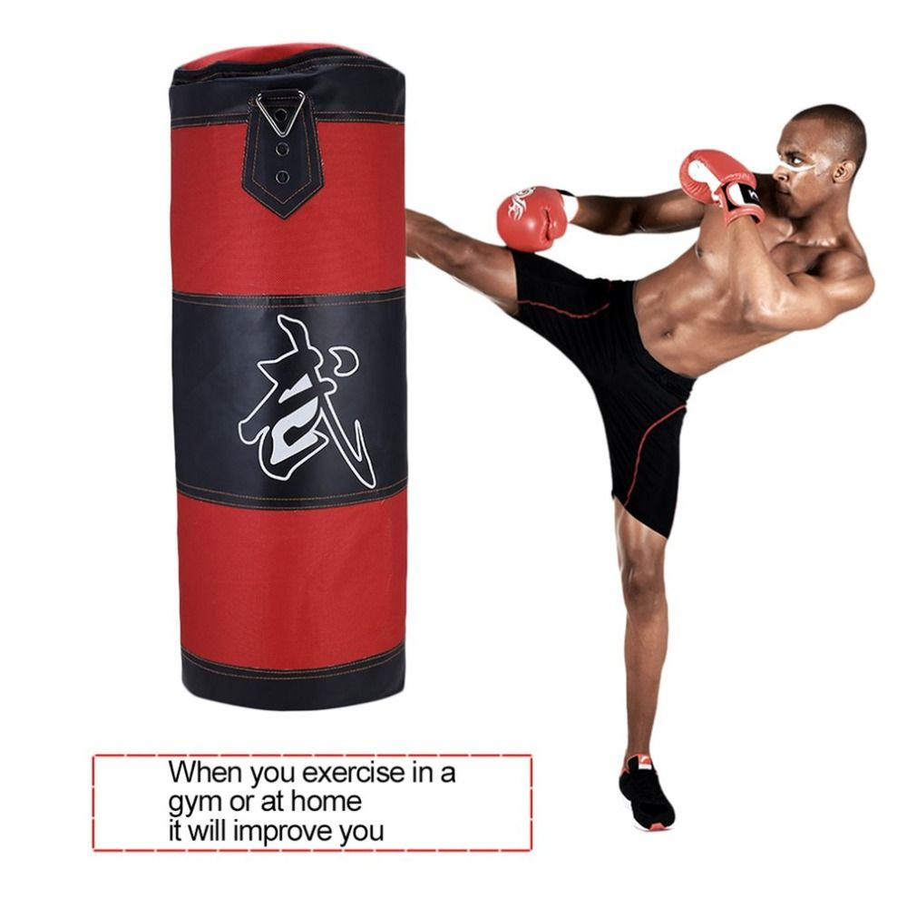 Thai MMA Boxing Gloves Punching Karate Kicking Punch Bag Hang Sandbags Practice