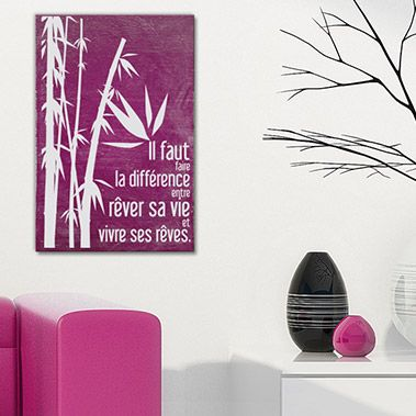 Tableau citation en bois pour une d coration originale de votre maison appartement bureau - Tableau deco pour bureau ...