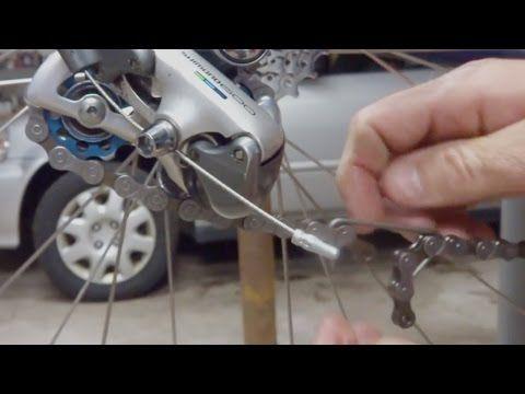 How To Size A Bike Chain Length Youtube Bike Chain Repair And