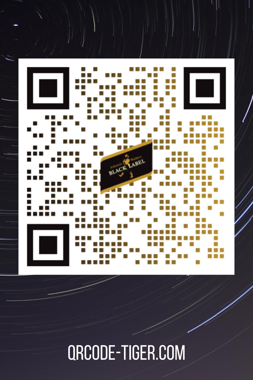 Johnnie Walker Black Label Qr Code Inspired Free Qr Code Generator Design Logo Art Usa Free Qr Code Generator Qr Code Qr Code Maker