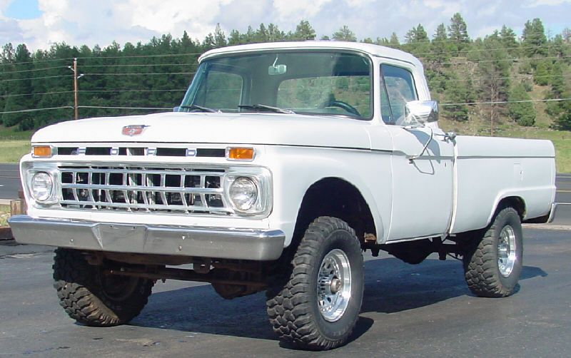 1966 ford 4x4 - Google Search | Ford | Old ford trucks ...  1966 ford 4x4 -...