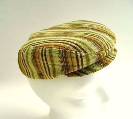 6c2481c3f PIF Flat cap driving hat sewing pattern for child Andy by McHats ...
