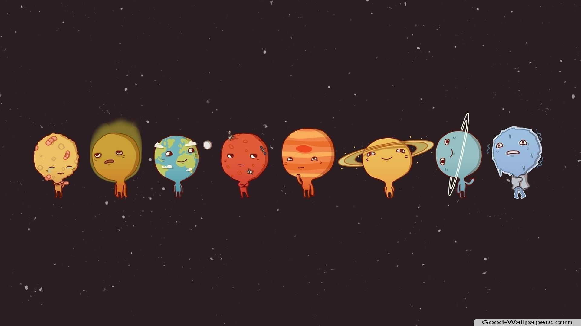 Funny Space Cute Wallpapers For Computer Desktop Wallpapers Tumblr Wallpaper Notebook
