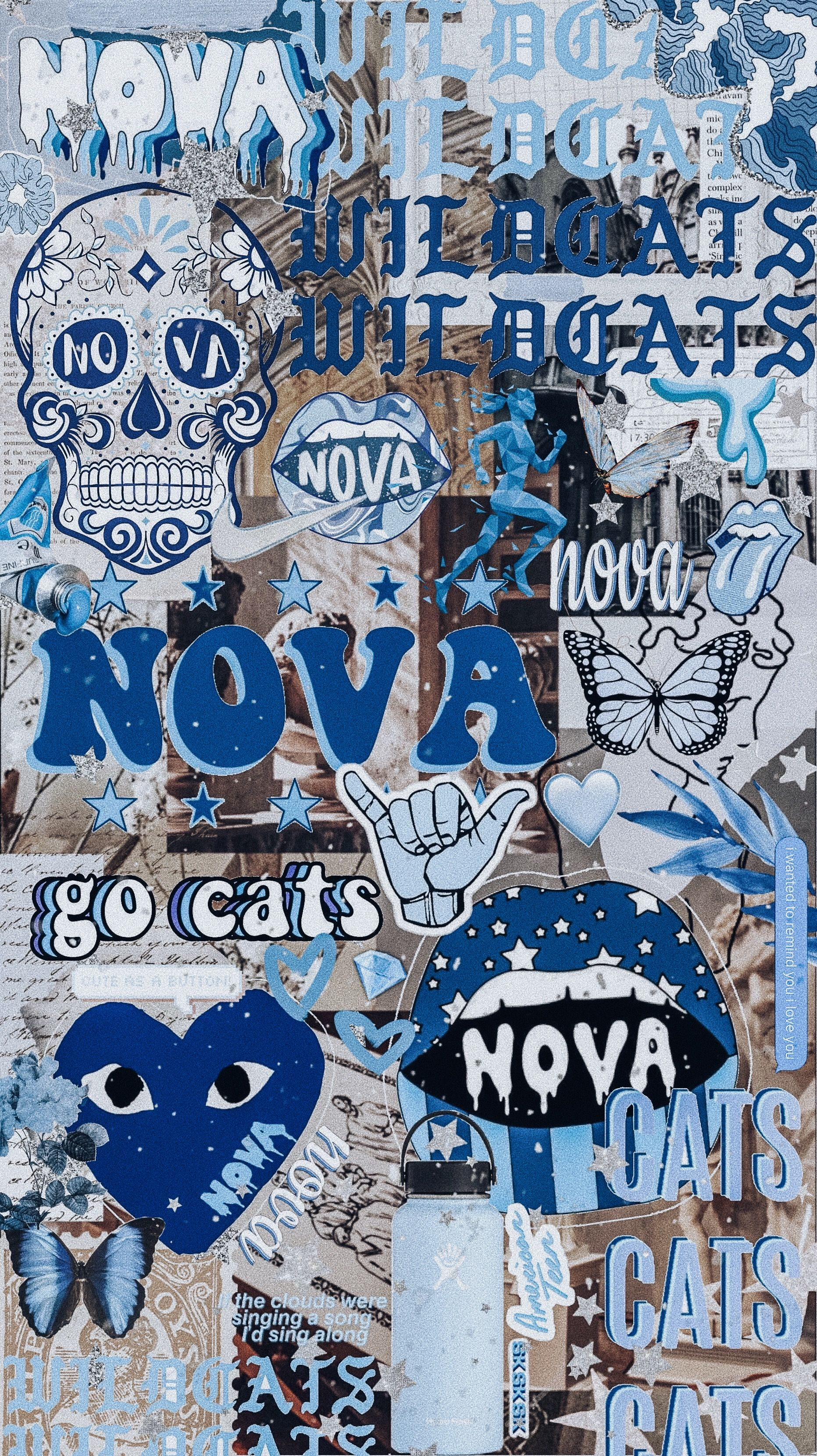 Villanova Beer Pong Table Painted Dorm Picture Walls Aesthetic Collage