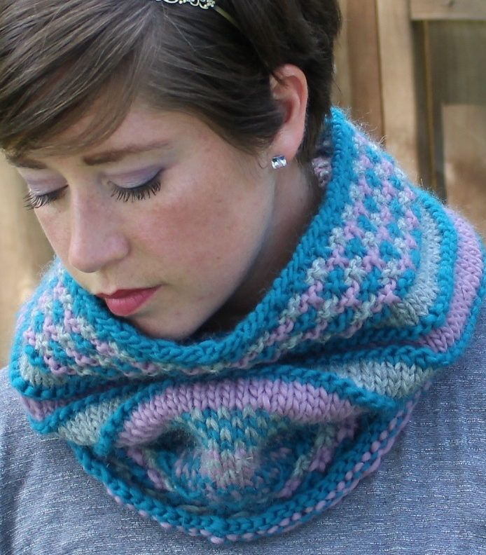 Colorful Cowl Knitting Patterns- In the Loop Knitting in ...