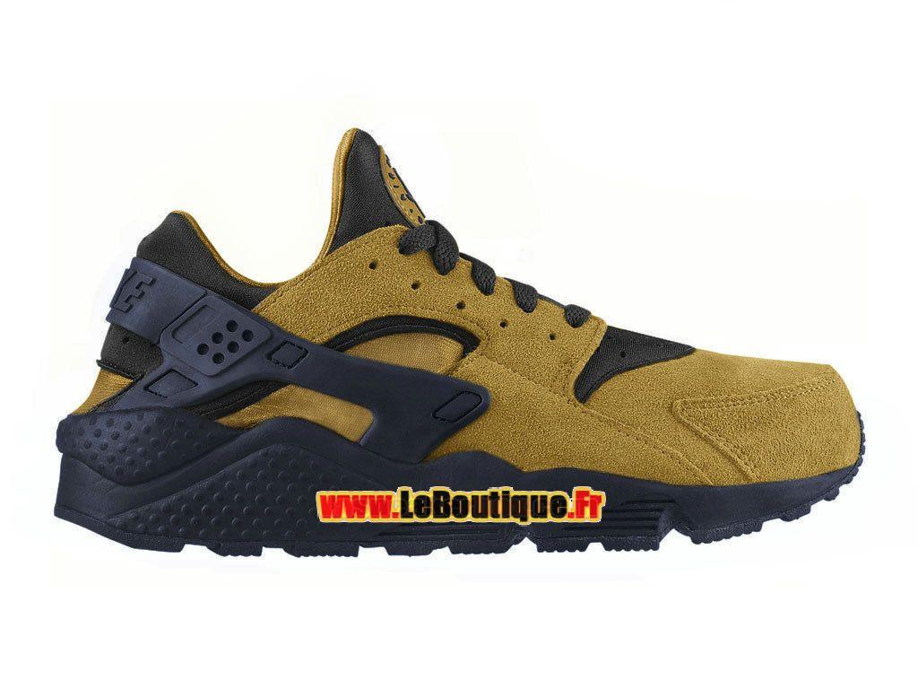 new styles 03036 85367 Nike Air Huarache Run Suede , Chaussure Nike Sportswear Pas Cher Pour Homme  Bronze doré  ...