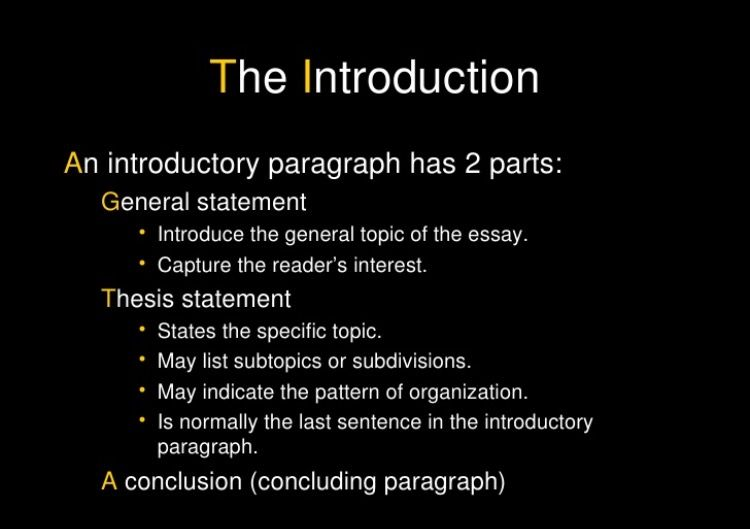 Unit 4 Introductory Paragraph Essay Structure Introduction Maker