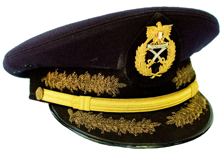 Egyptian Army generals  ceremonial visor cap.  fb75f3ff848