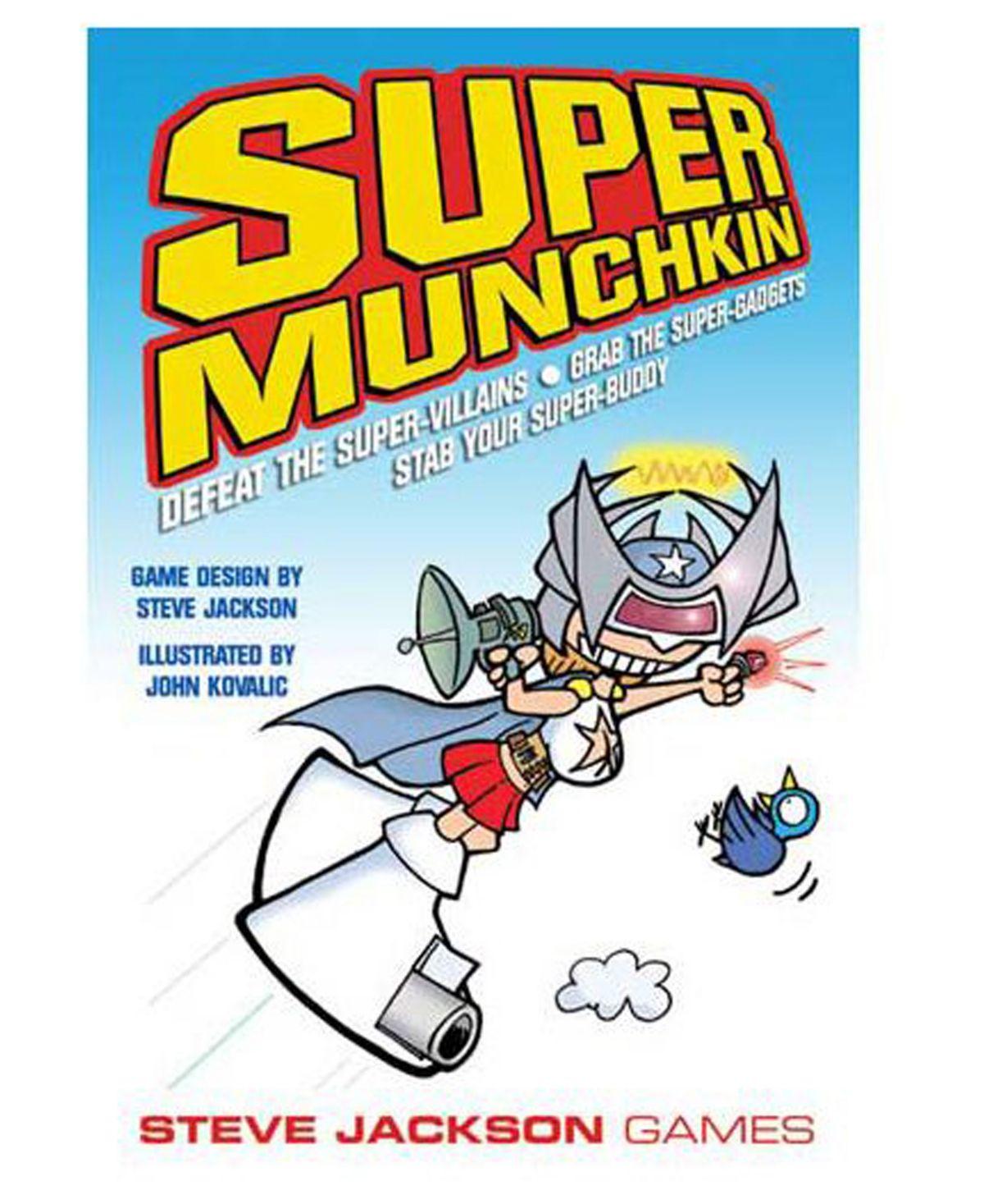 Steve Jackson Games Super Munchkin Card Game Reviews Kids Macy S Munchkin Card Game Card Games Munchkin Game