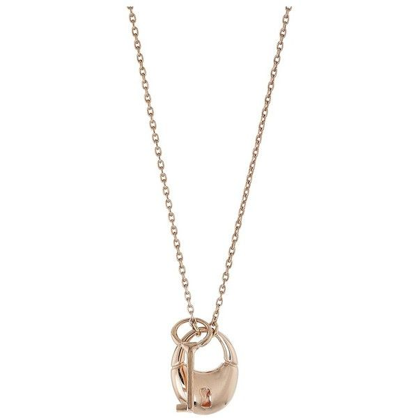 Shinola Detroit Key Lock Cluster Necklace (14K Rose Gold) Necklace ($450) ❤ liked on Polyvore featuring jewelry, necklaces, chain pendant necklace, 14k pendant, pendant necklaces, 14k rose gold pendant and rose gold pendant