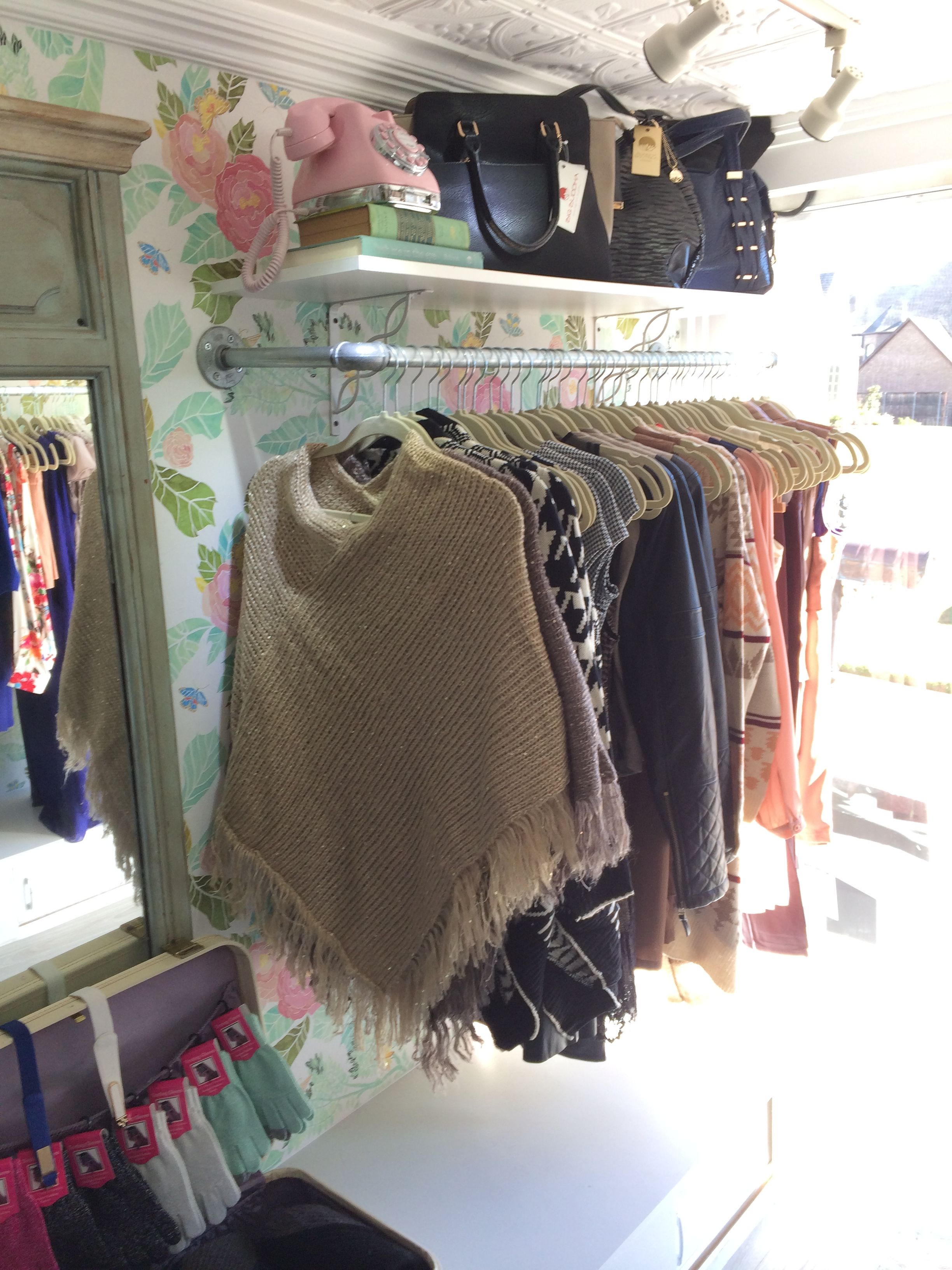 My Rolling closet interior layout.  The newest mobile fashion boutique in Dallas, TX