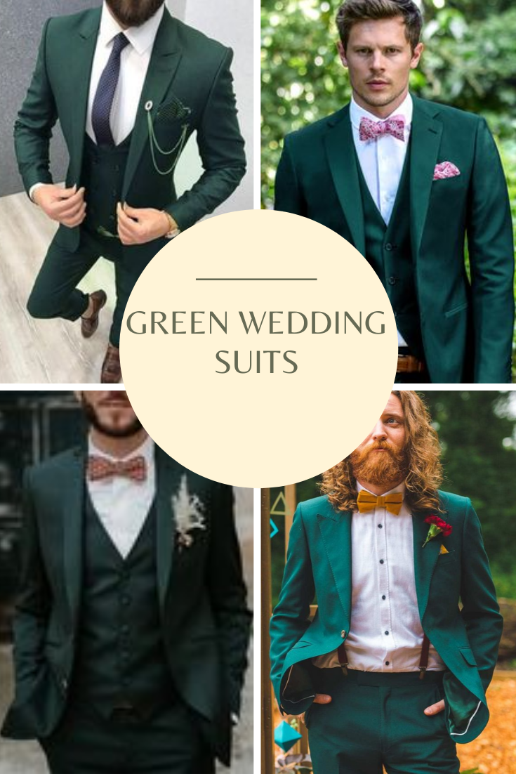 Green Suit For Your Wedding Suits Green Wedding Suit Green Suit
