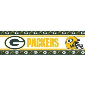 Nfl Green Bay Packers Wall Border Green Bay Packers Fans Green