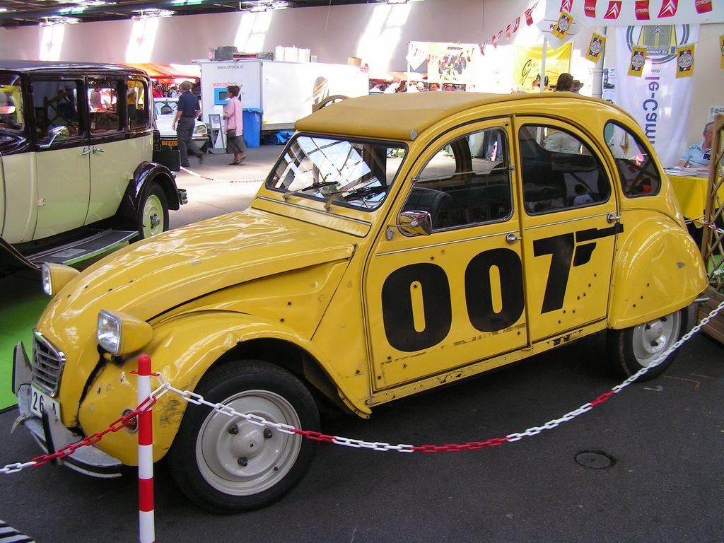 Citroen James Bond James Bond Bond Films Bond