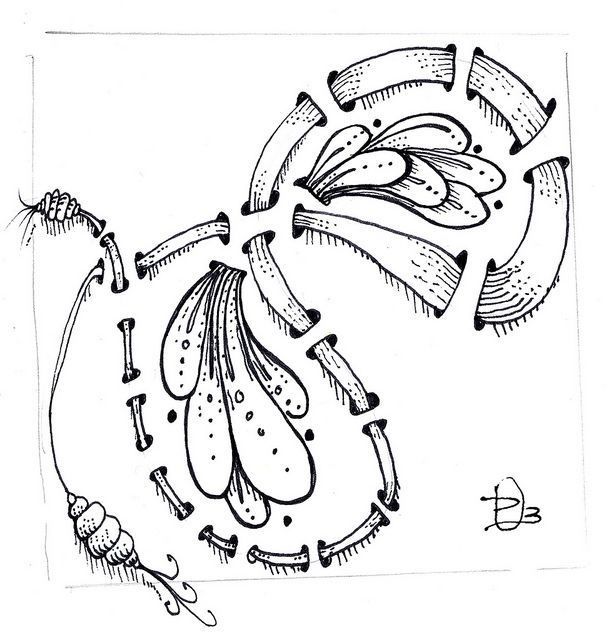 Pin on Zentangle/Doodles