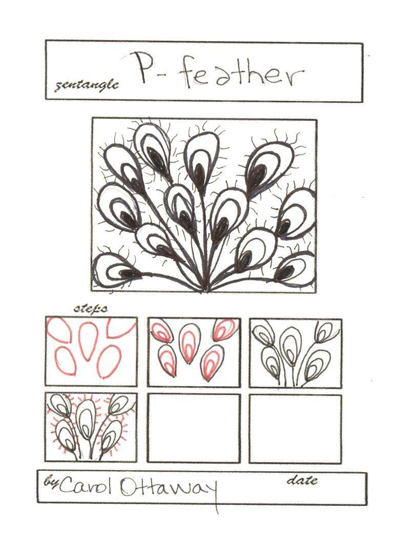 Zentangles Patterns Step By Step pattern0001 | Zentangl...