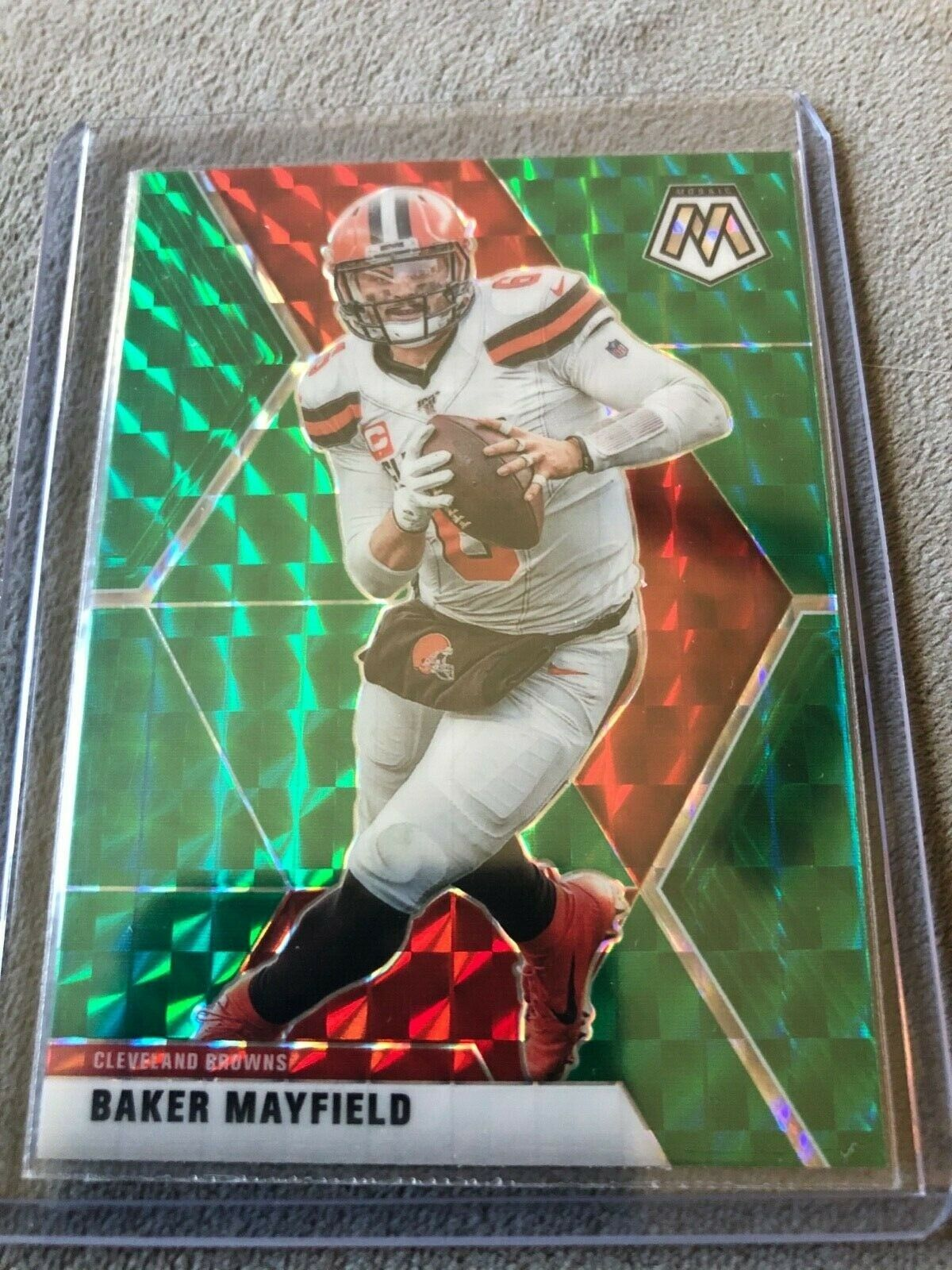 2020 Mosaic Football Cards Baker Mayfield In 2020 Football Cards Baseball Cards Cards