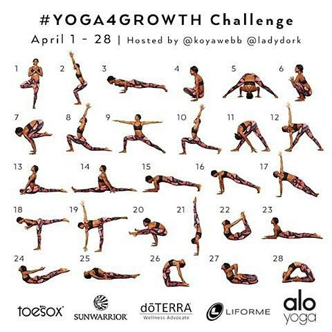 joining my third yoga4growth challenge love the format