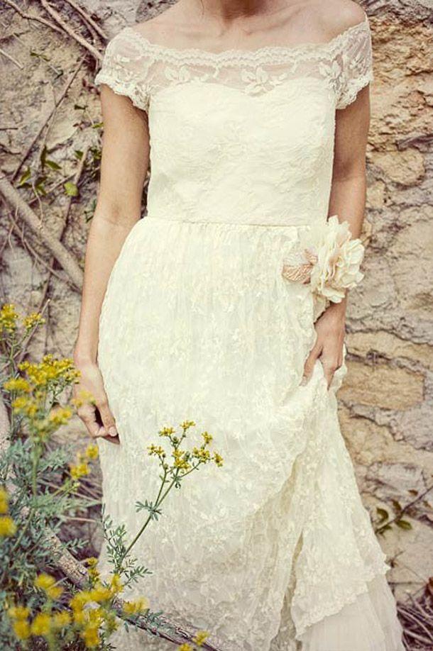 Hochzeitskleider Vintage Glamour | Hochzeitskleider, Romantisch und ...