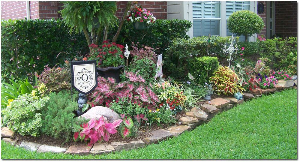 50+ Front flower bed ideas texas info