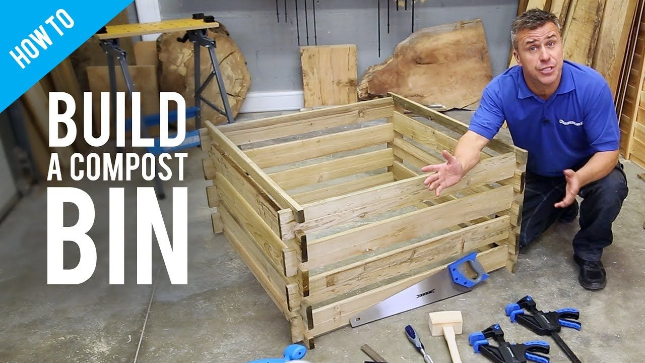 How to make a compost bin from pallets YouTube Making