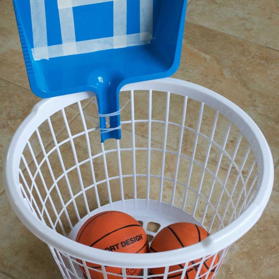 Laundry Basket Basketball Hoops Laundry Basket Diy Basketball