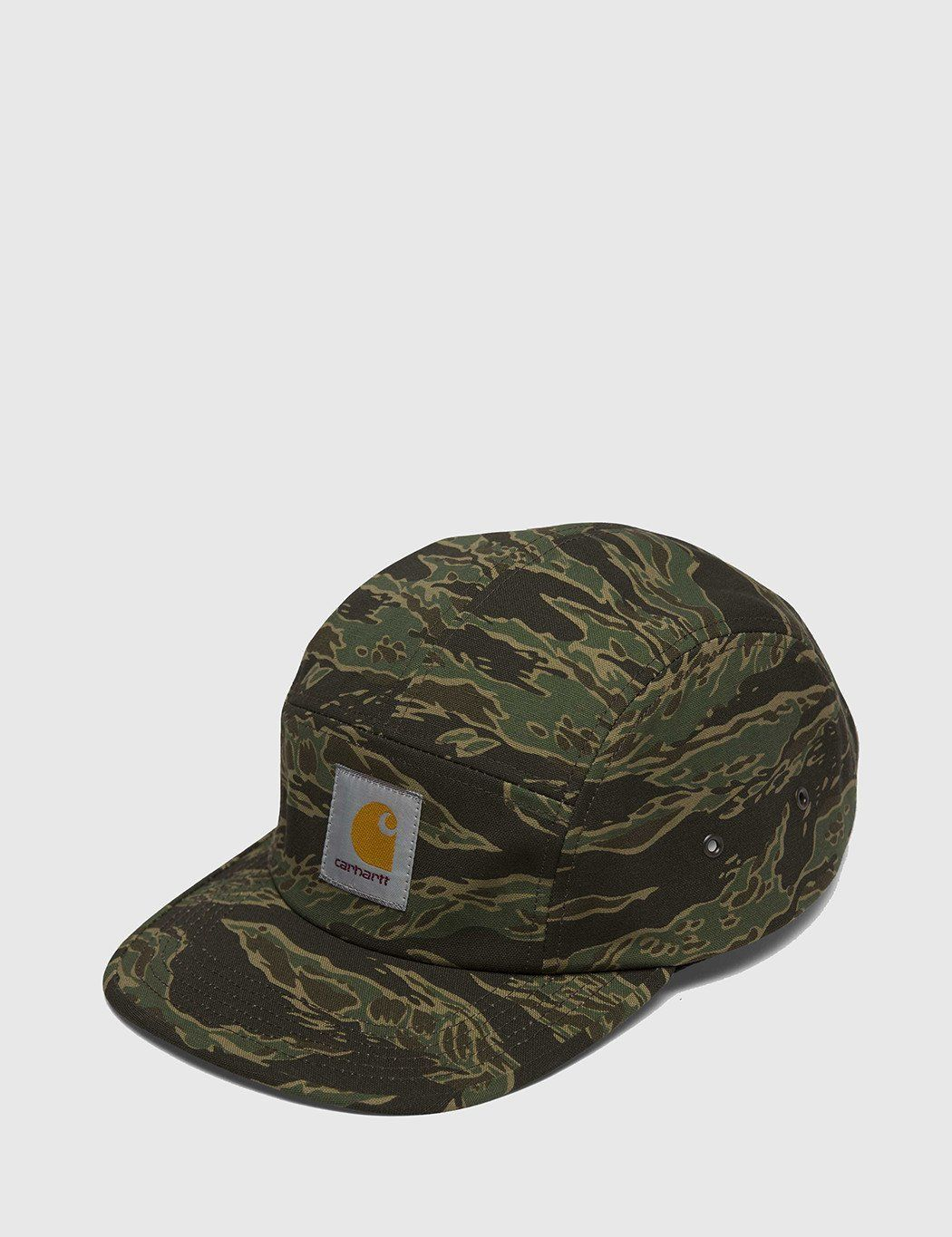 a6c6540a23b Carhartt Backley 5-Panel Cap - Tiger Camo