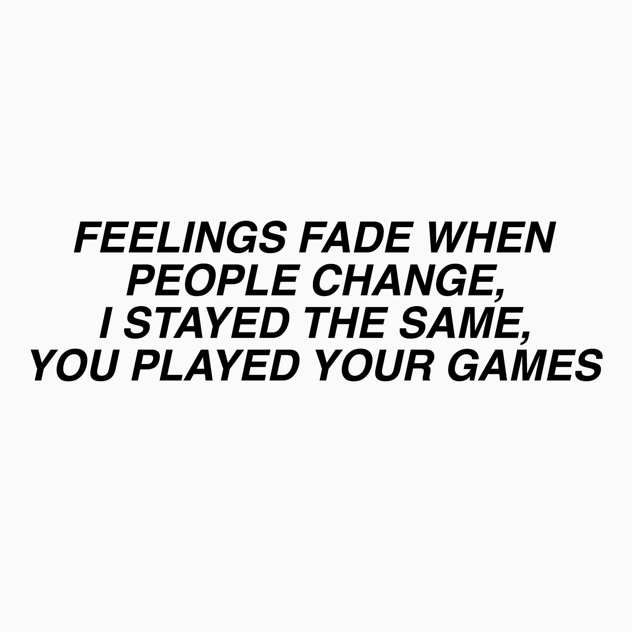 Post Malone Sad Quotes: Feelings Fade // Gnash [creds @hellabandtrash]