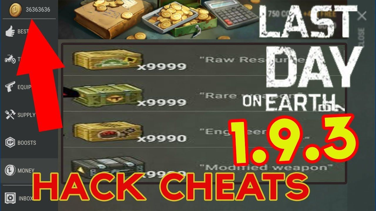 Last Day On Earth Survival Hack Cheats 1 9 3 Unlimited Money