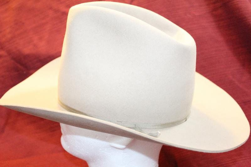 2afc84c805a97 Vintage Rare Miller Bros. Silverbelly Four X Quality 101 Ranch Men s  Classic Cowboy Western Fur Felt Hat Size 7 1 8 57cm