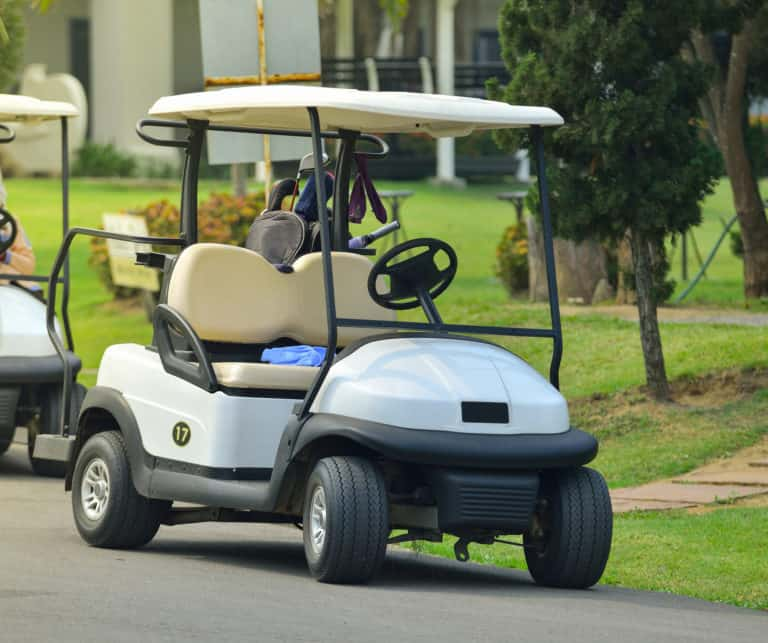 How Much Does It Cost To Charge An Electric Golf Cart In 2020 Electric Golf Cart Golf Carts Best Golf Cart