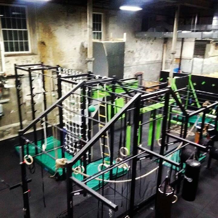 The american ninja warrior gym i go to called vitality