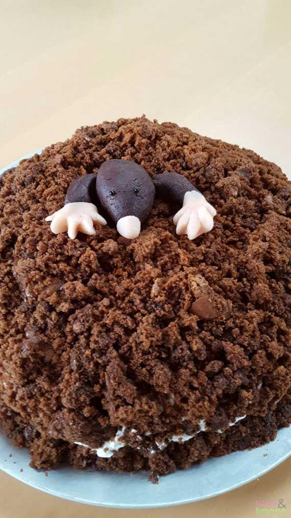 Kirsch Maulwurfkuchen Zum Kindergeburtstag Kindergeburtstag Kuchen Muffins Maulwurfkuchen Kuchen Kindergeburtstag