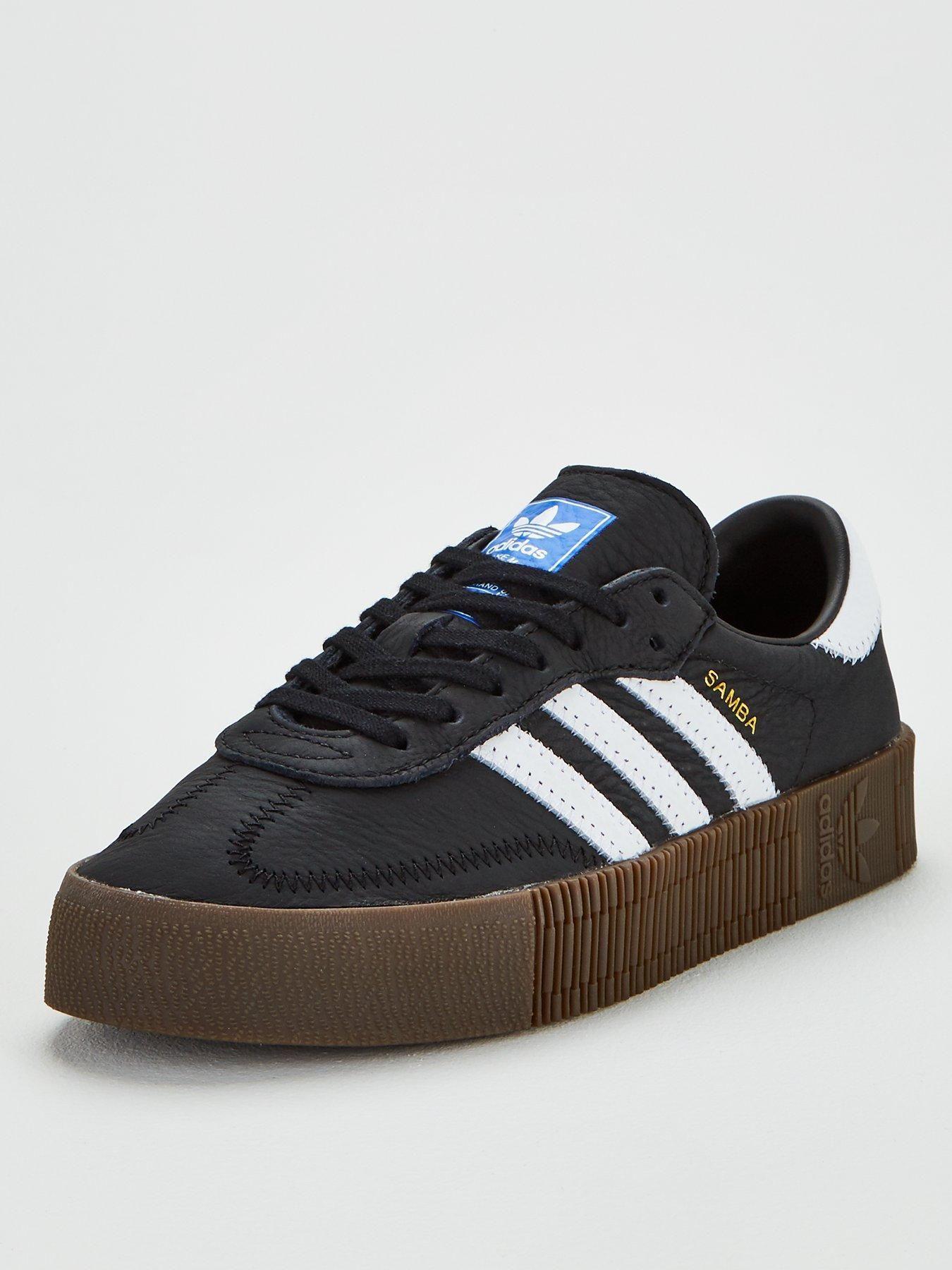 Sambarose - Black | Black, Adidas originals, High leg boots