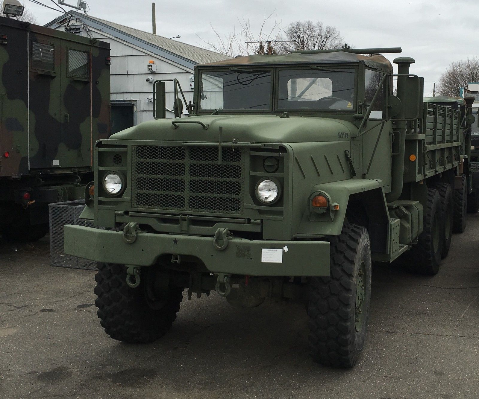 2012 rrad rebuild military m923a2 6x6 turbo cargo truck bmy harsco