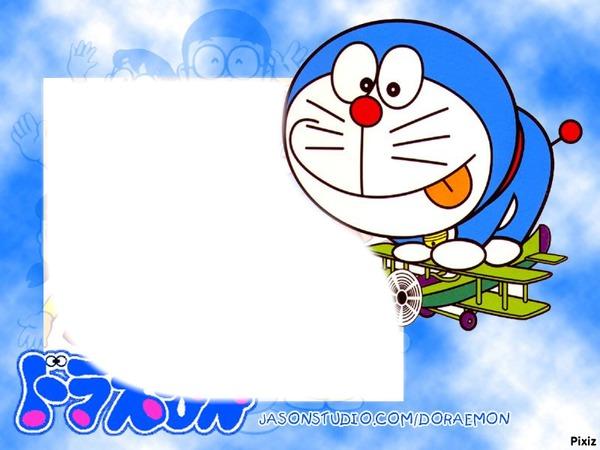 Background Doraemon Photo Frame