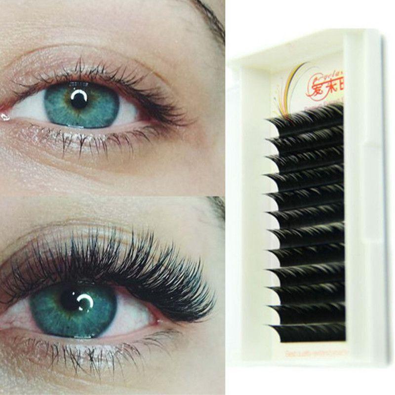 2a8e2ce3e22 All Size 8mm to 15mm BCD Curl 0.05mm/0.07mm/0.10mm/0.15mm/0.20mm/0.25mm  Thickness Fake Eye Lash Extension. All Size Individual Eyelash ...