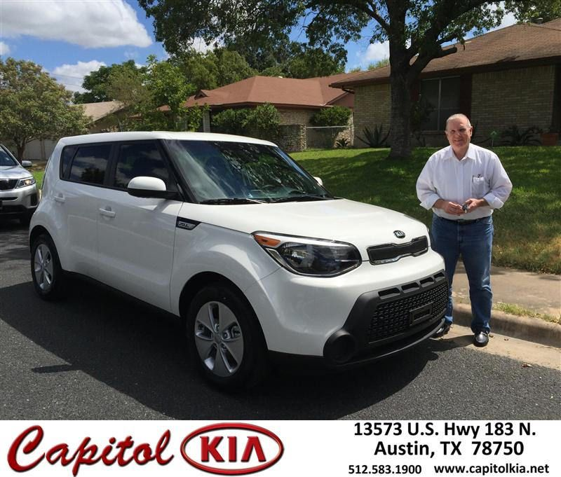 https://flic.kr/p/xVv3LL | Congratulations Roy on your #Kia #Soul from Ivan Rodriguez at Capitol Kia! | deliverymaxx.com/DealerReviews.aspx?DealerCode=RXQC