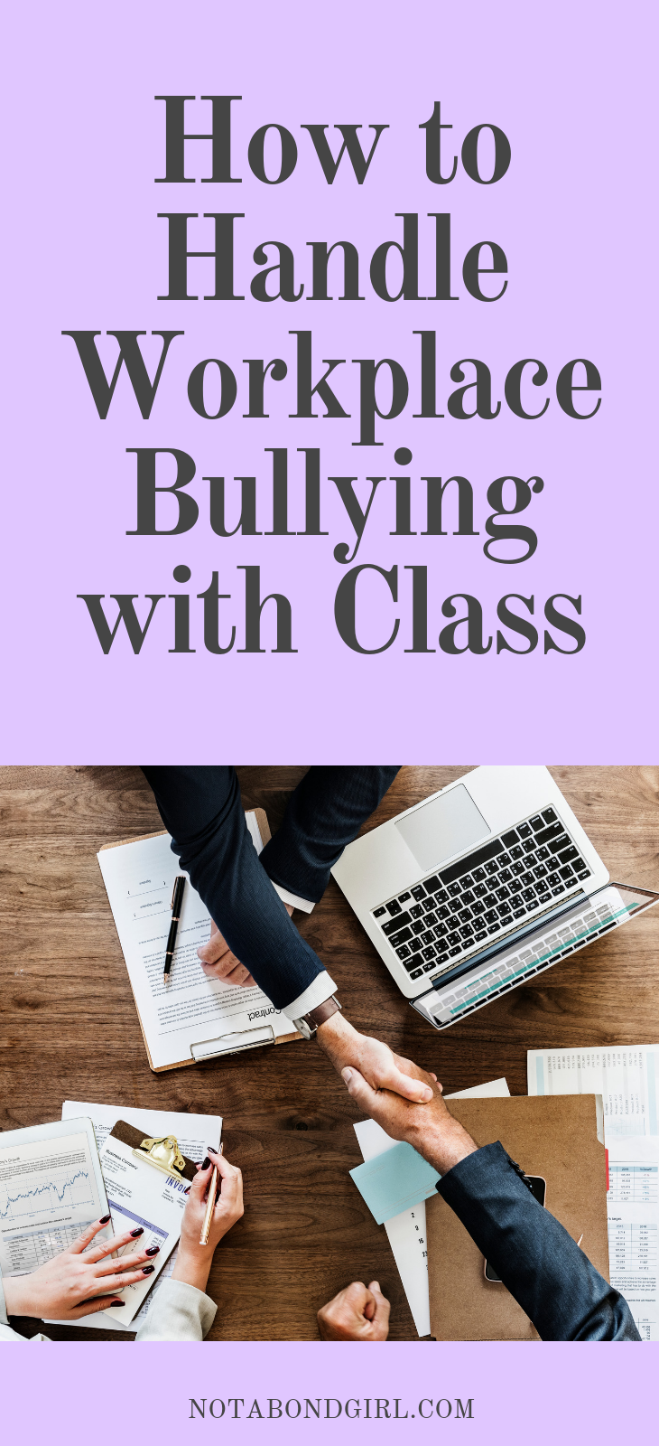 How to Handle Workplace Bullying with Class