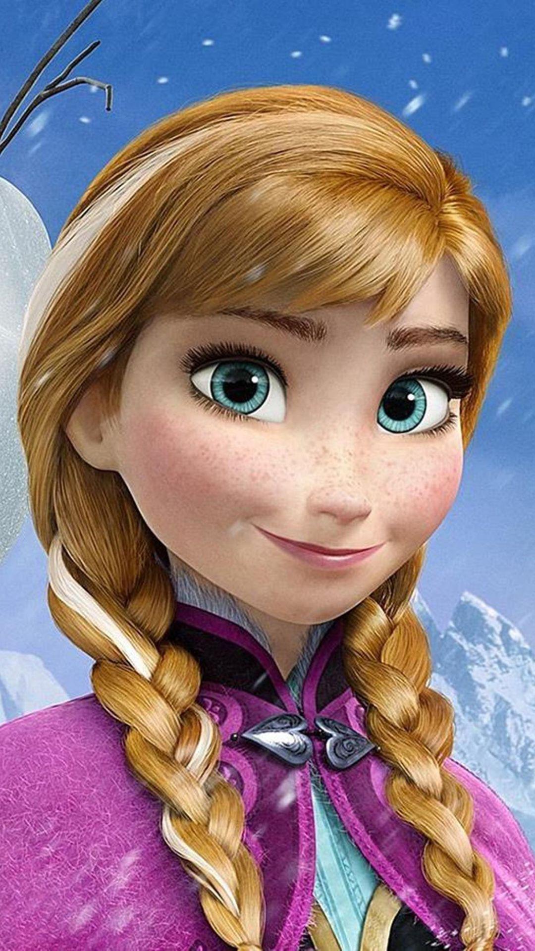 So Cute Princess Anna Halloween Frozen Iphone 6 Plus Wallpaper