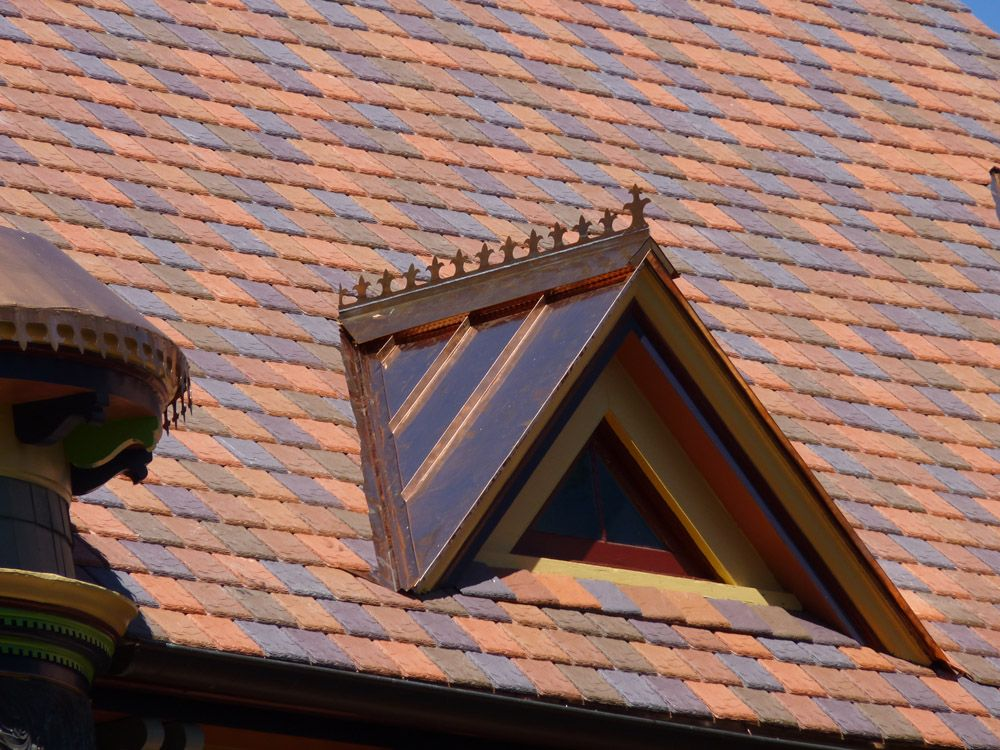 Copper Standing Seam Metal Roof Copper Roof Copper Awning Roof Vents