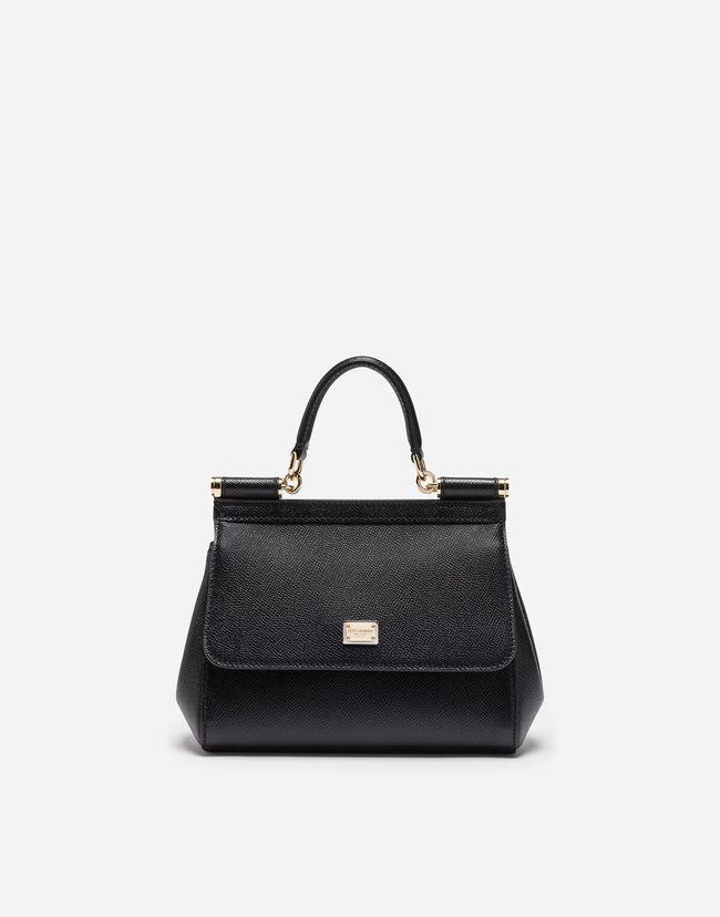 bd79ddad730 Small dauphine leather sicily bag | bags | Bags, Dolce gabbana ...