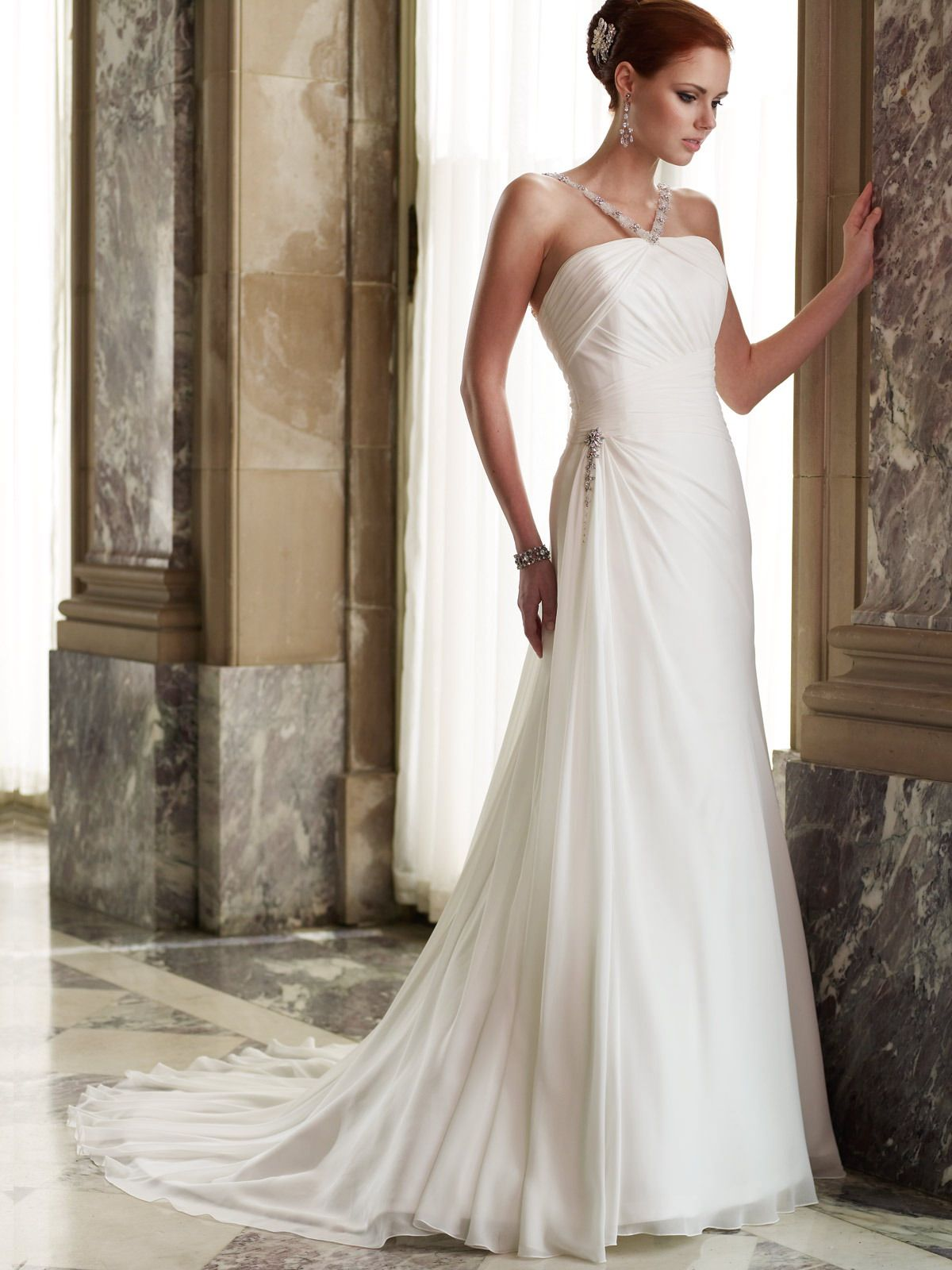 Simple wedding dresses cheap  Mon Cheri Bridal Gown Style  Drea  Wedding Dress  Pinterest