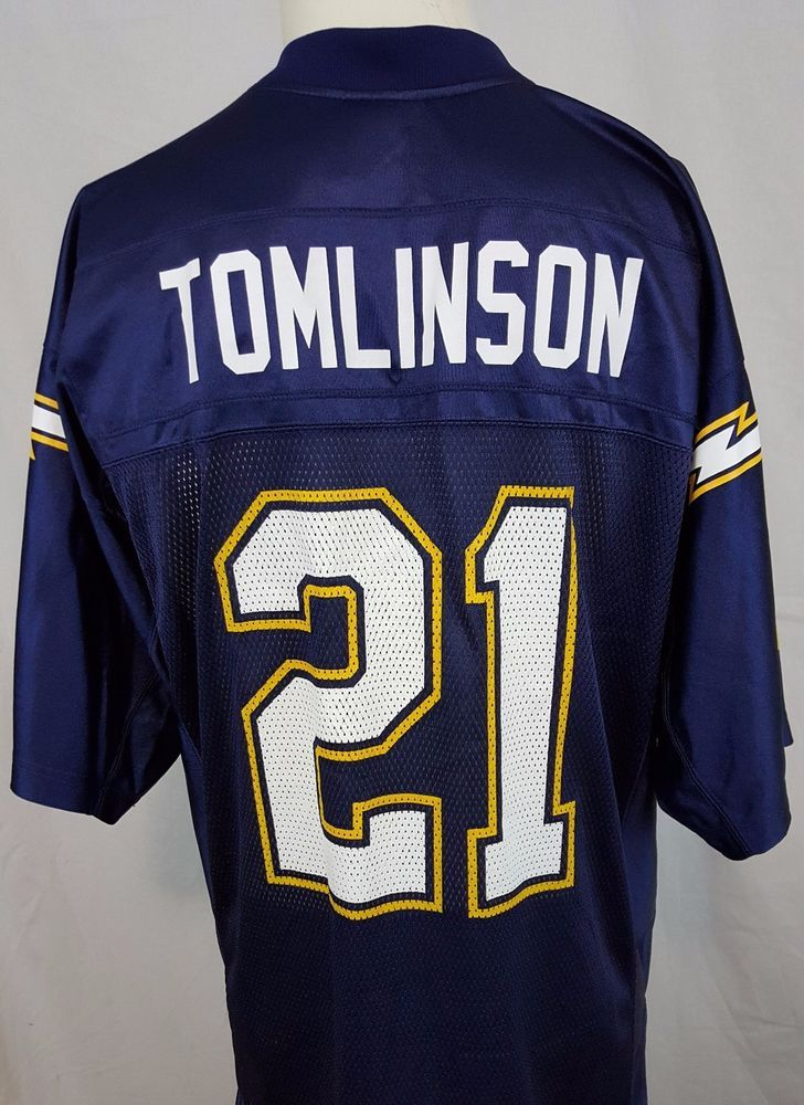 Ladainian Tomlinson  21 San Diego Chargers Reebok NFL Onfield Blue Jersey M   Reebok  SanDiegoChargers  chargers  tomlinson 3d81ac5b4976