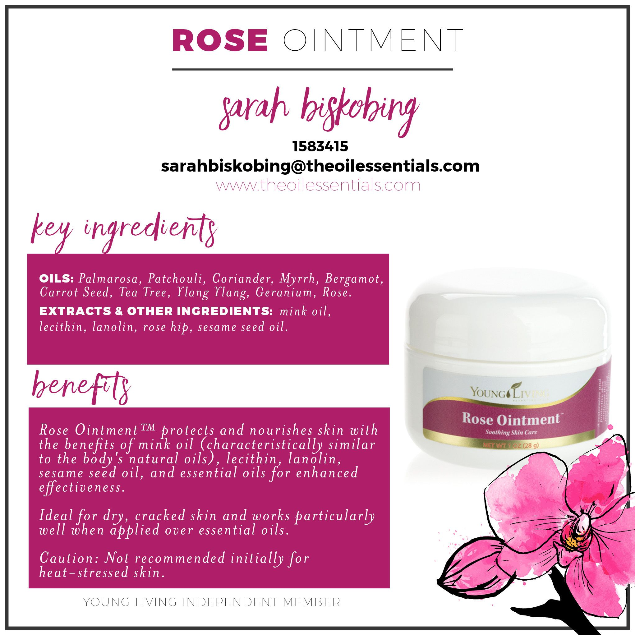 Young Living Skin Care Rose Ointment Paint My Face My Nails My
