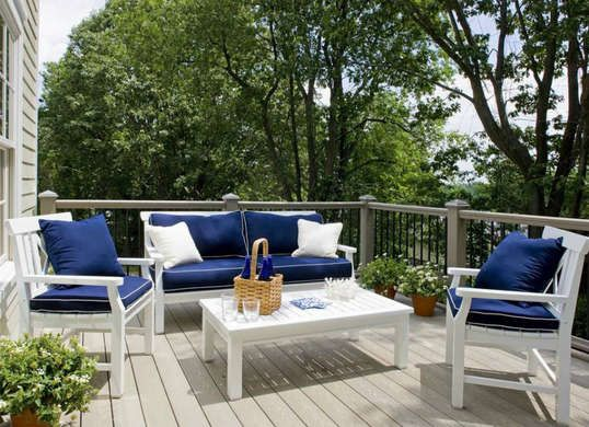 7 Ways To Restart Your Home For Spring White Patio Furniture