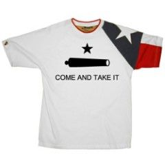 Come and Take It Texas Flag Shirt by Quick Draw Shirts